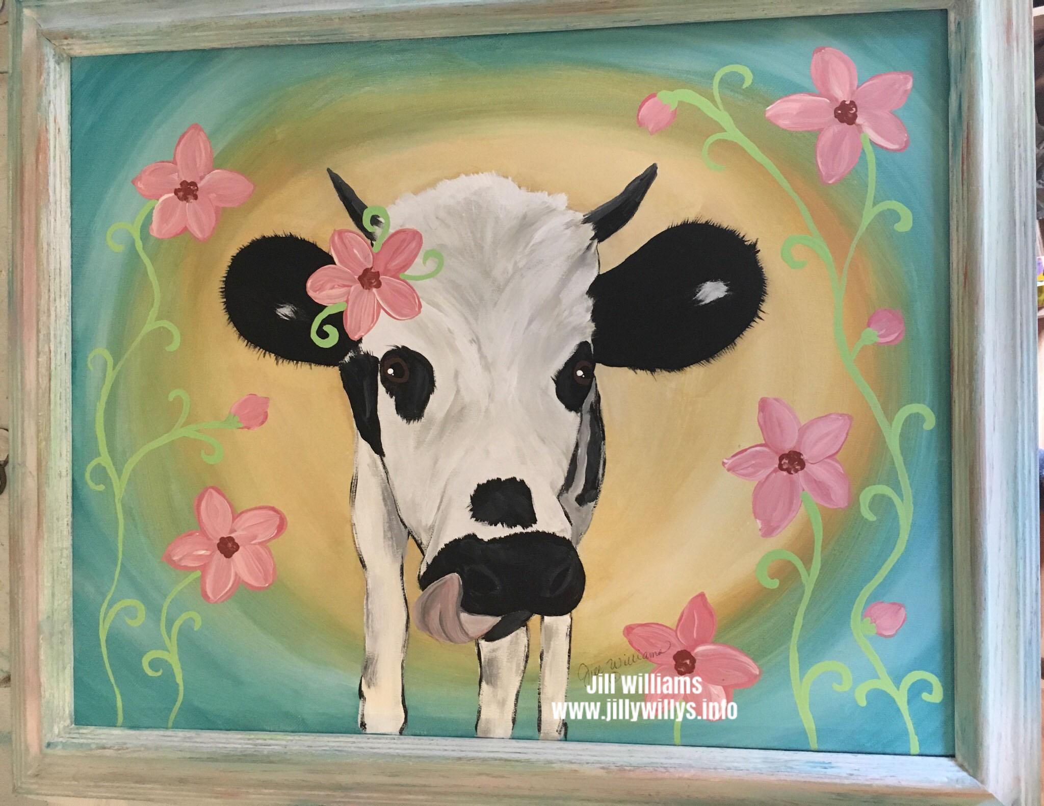 Dazzle - Dazzle the Cow of North GA Zoo and Farm, Cleveland, GA