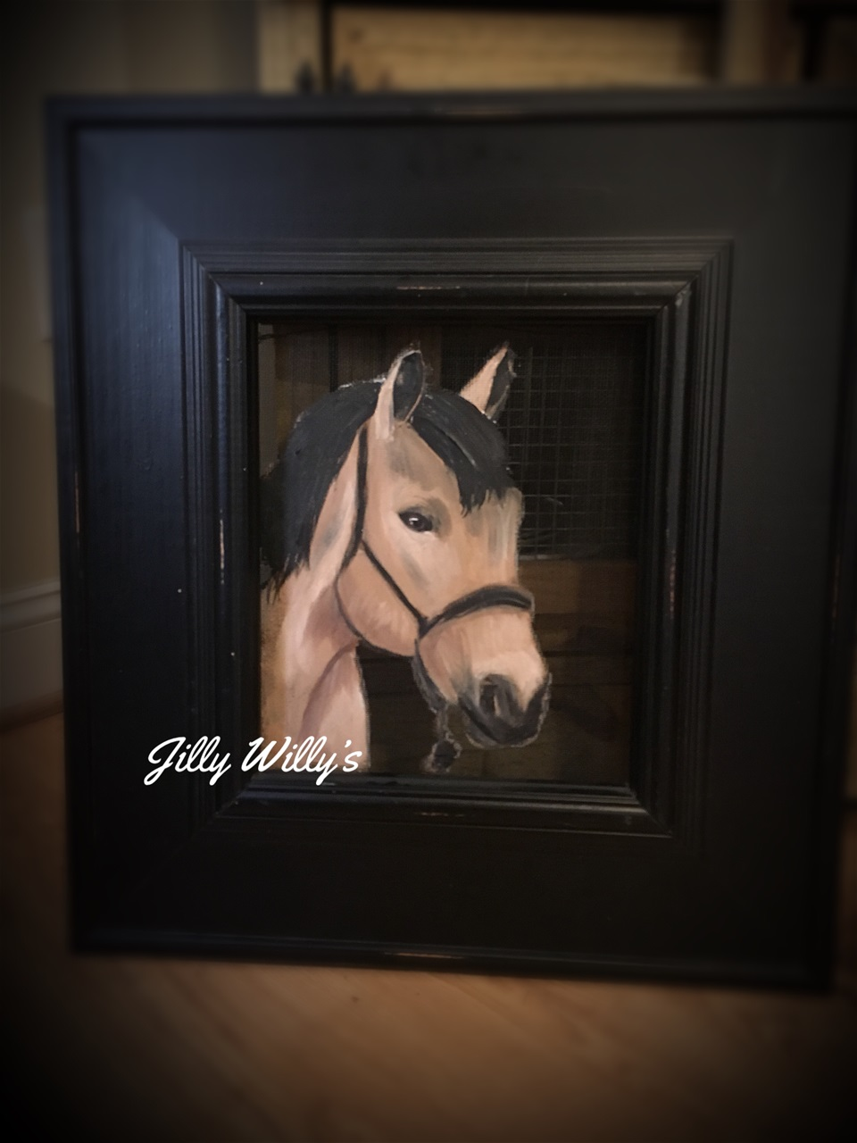 Wild and Free - Inspired by the neighbors horse who often escapes and wanders into our pasture.