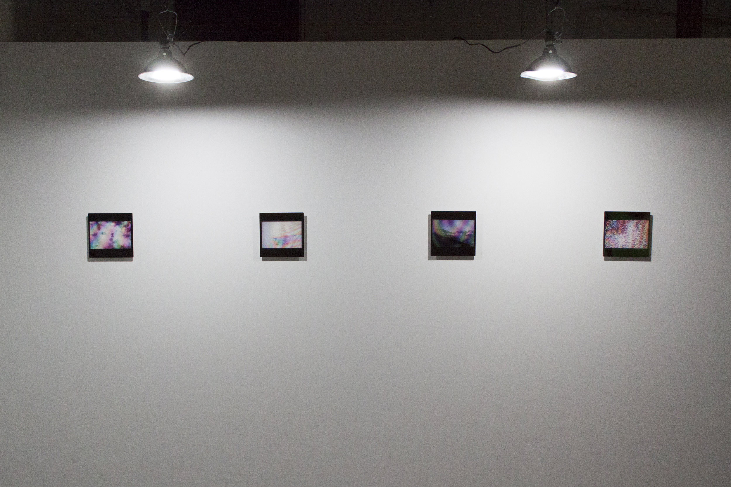 Installation view, Ephemera series
