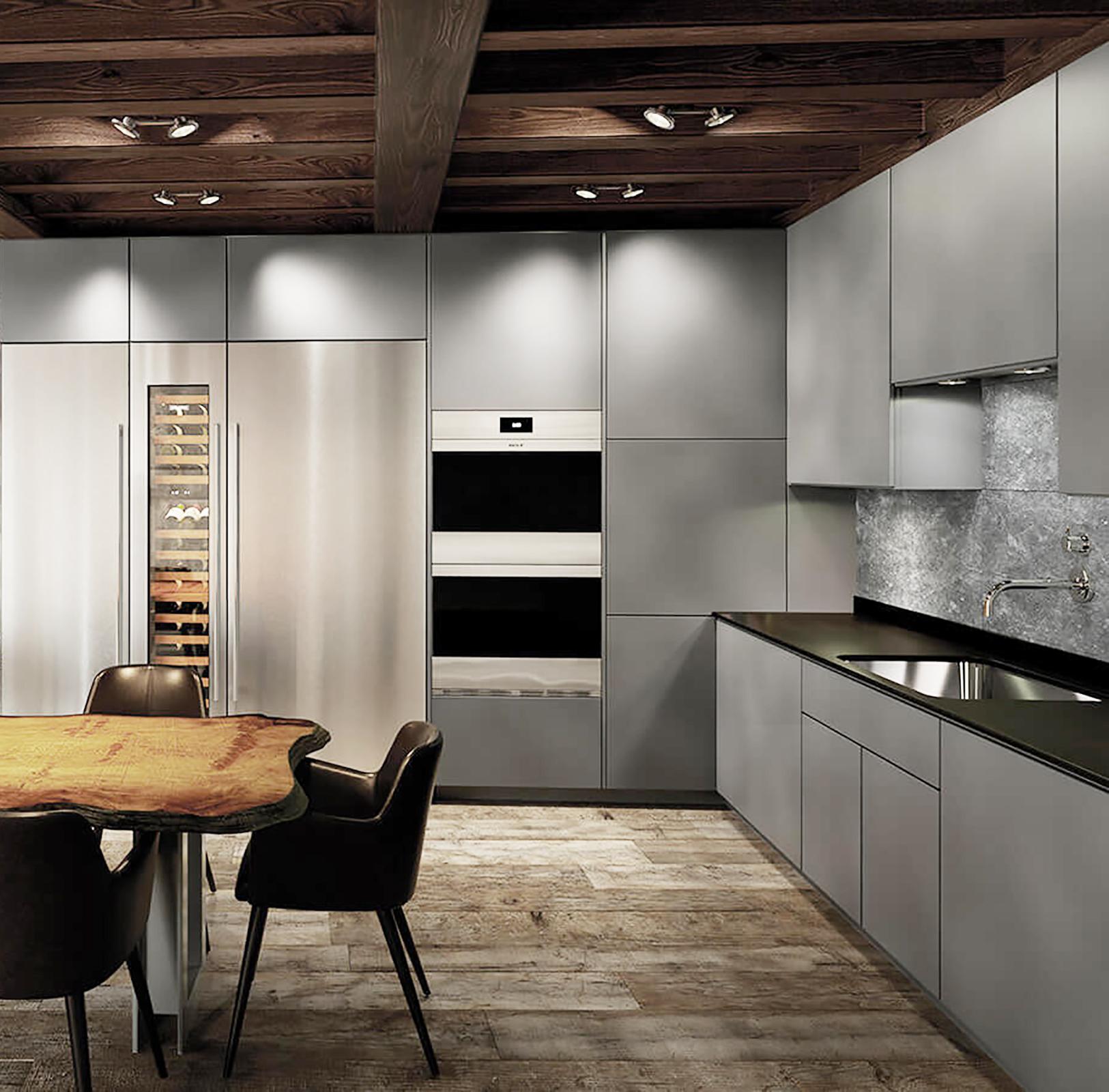 luxury kitchen option 2 modern condominium