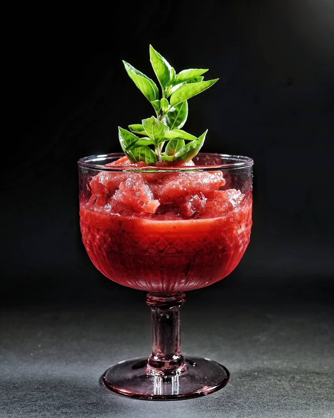 Strawberry & Basil Daiquiri.