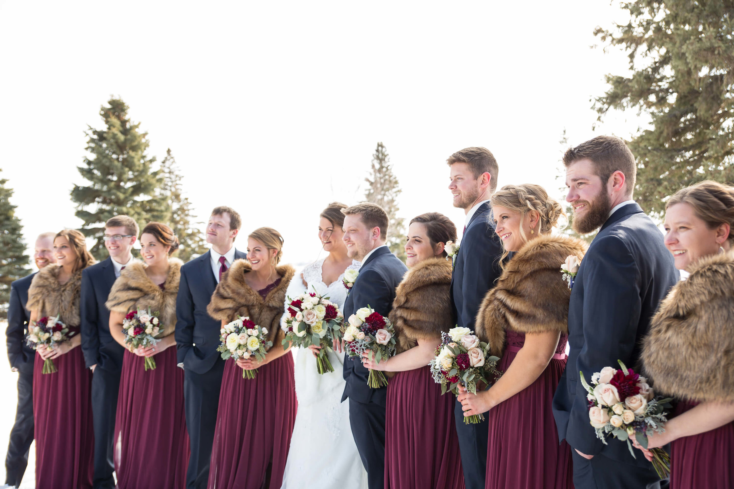 51Photographer: Nicki Lynn | Venue: Glenhaven Wedding winter wedding | indoor ceremony.jpg