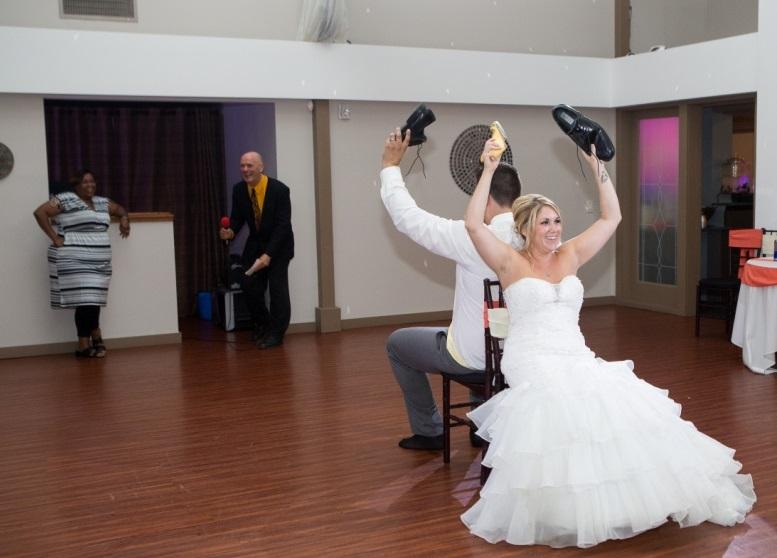 Rodriquez-Morey Fab wedding shoe game at Rosehenge Hall