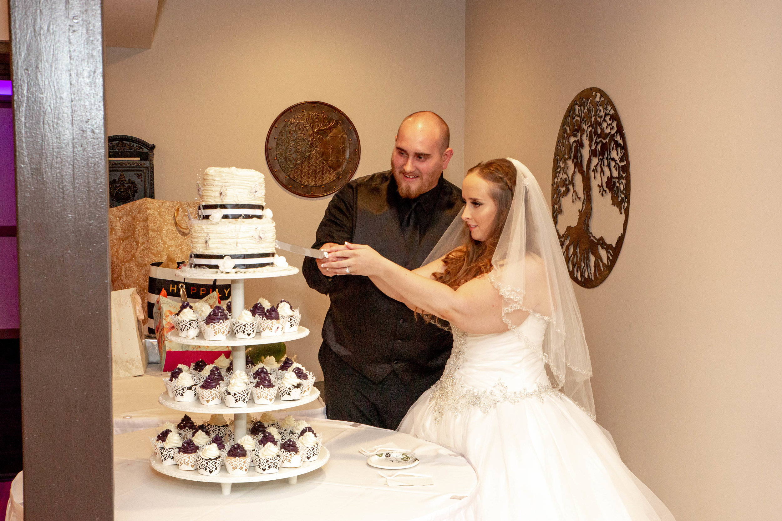 Rosehenge Hall, Fab Weddings, Minnesota reception venue, Lakeville wedding, south metro, cake cutting