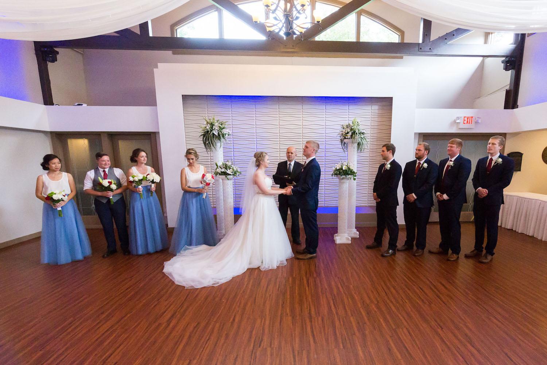 Rosehenge wedding, Lakeville wedding venue, affordable wedding venue in south Minnesota, ceremony photo
