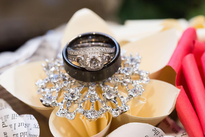 Rosehenge wedding, Lakeville wedding venue, affordable wedding venue in south Minnesota, wedding rings photo