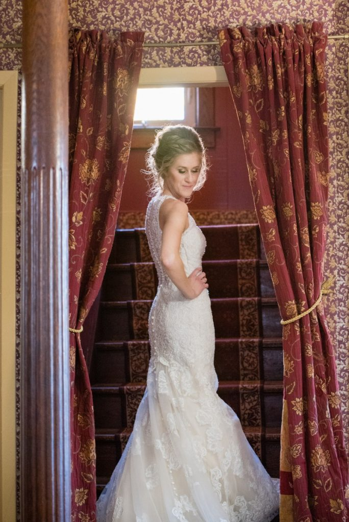 Danielle Albrecht, Fab Weddings | fall wedding | bridal reveal