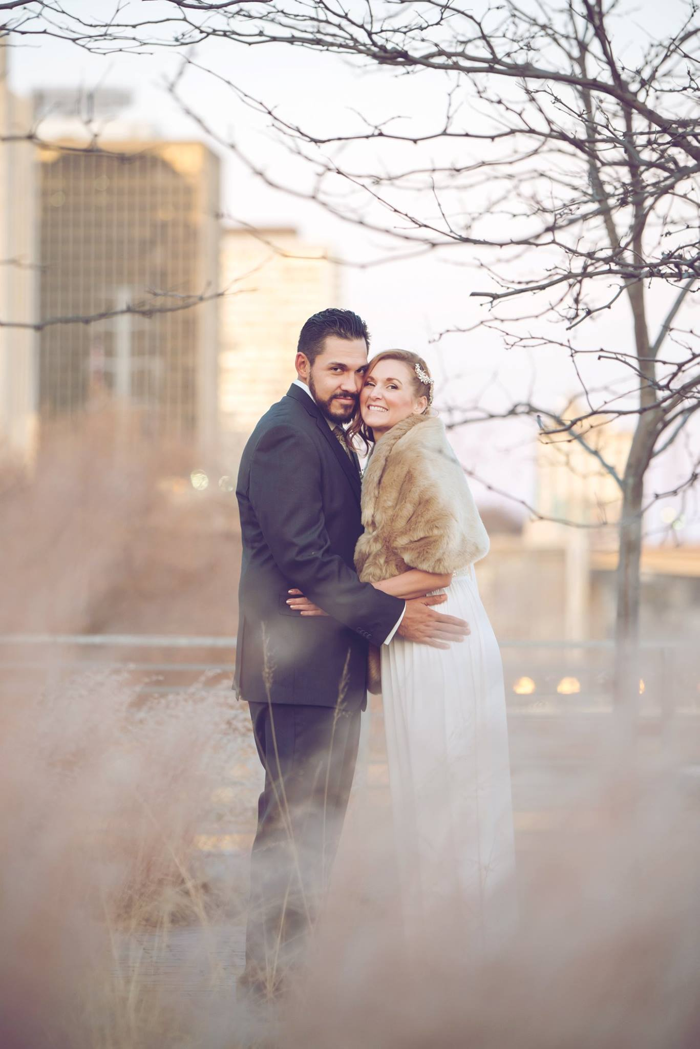 Danielle Albrecht all inclusive wedding photographer for fab weddings, winter wedding