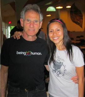 Training with Jon Kabat-Zinn - creator of the Mindfulness Based Stress Reduction program