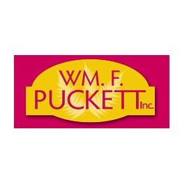 Wm. F. Puckett   Wm. F. Puckett, Inc. is a professional grower and distributor of cut floral greenery — involved in the foliage industry for three generations, with the idea of creating a company that would become a standard for cut foliage growers. We were the first grower to introduce  Hydroseal ™, setting a standard for post-harvest treatment,  Super Shine ™, and hand-dipped color-enhanced product to the market such as  Gilded and Frosted™  and  White Mist™ Floral Foliages .