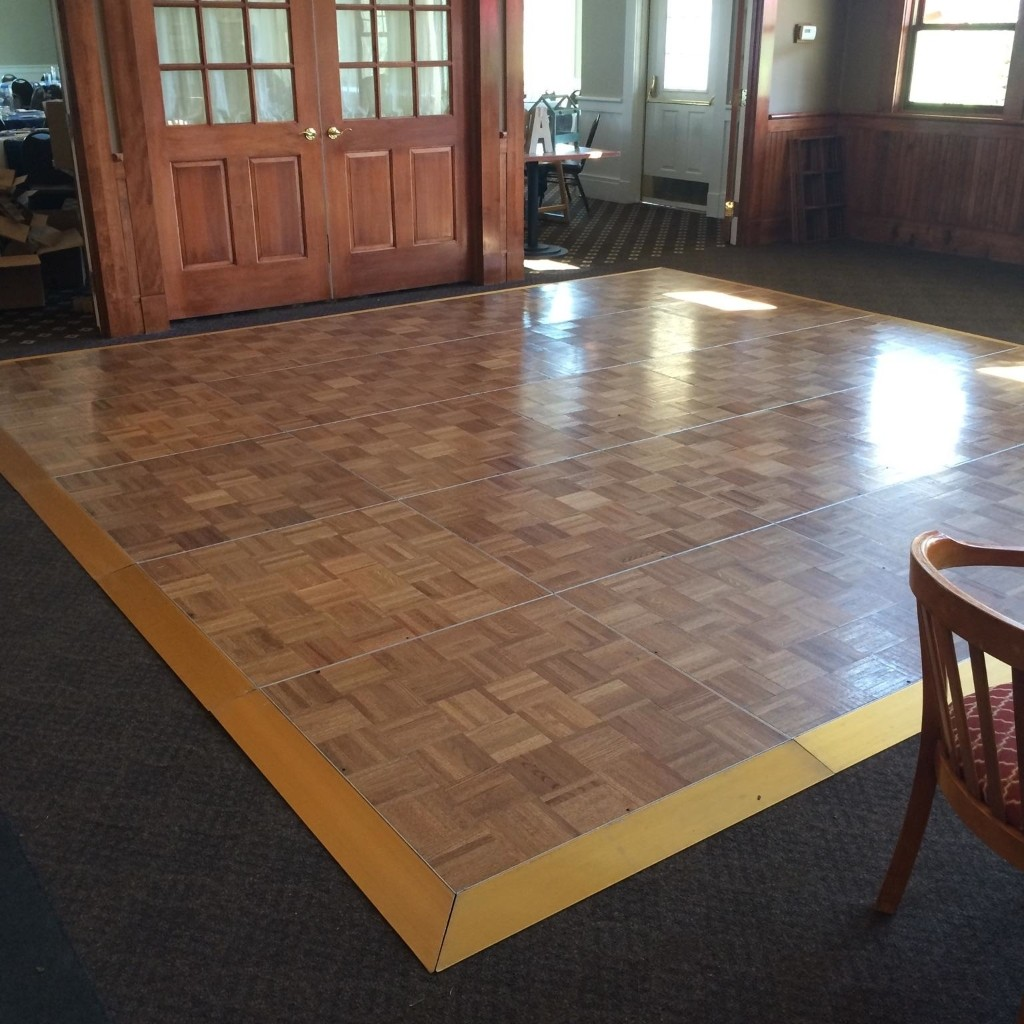 Dance Floor at Golf Course