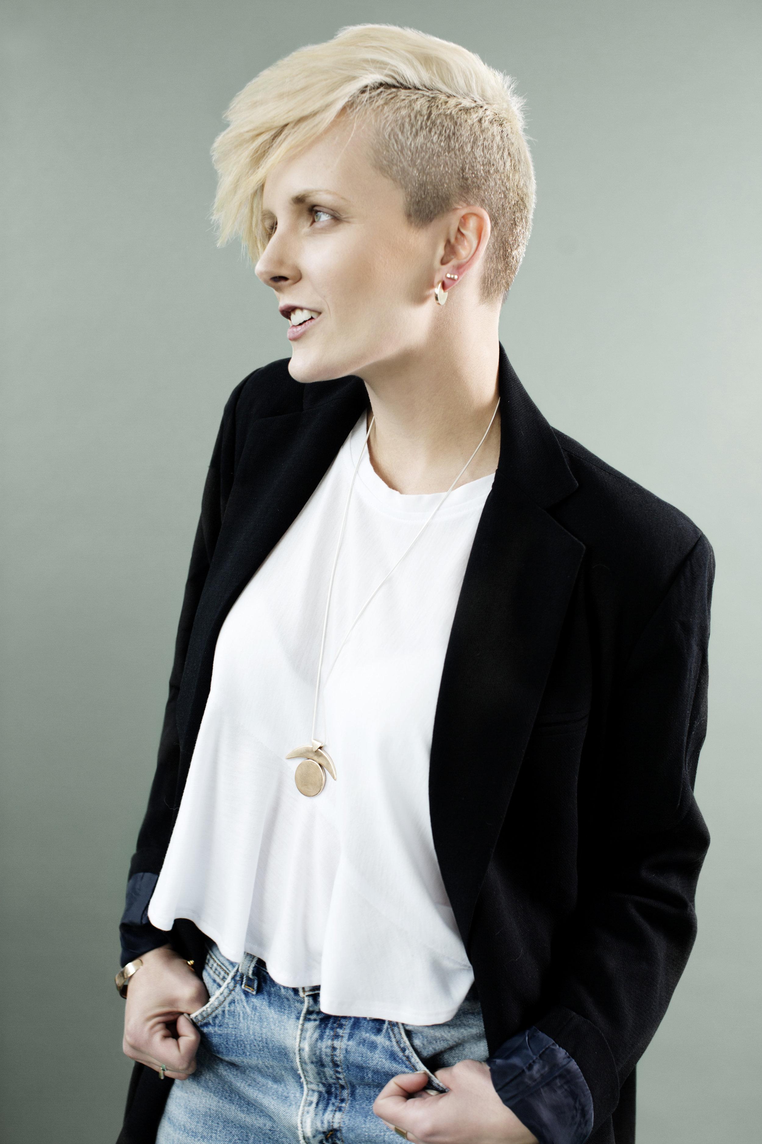 NOVA Collection - Photography -Eliesa JohnsonArt Direction & Stying -Bodega, LtdHair & Makeup -Romeny ChanModel -Heather Byington