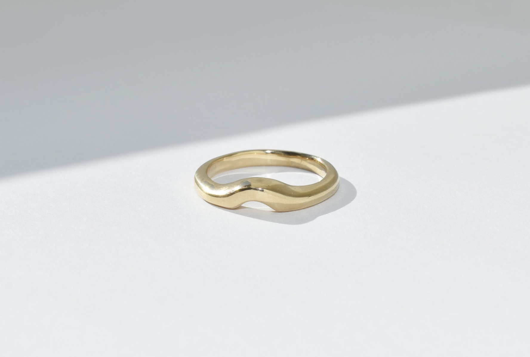 EMILY Companion Band - 14k Yellow Gold