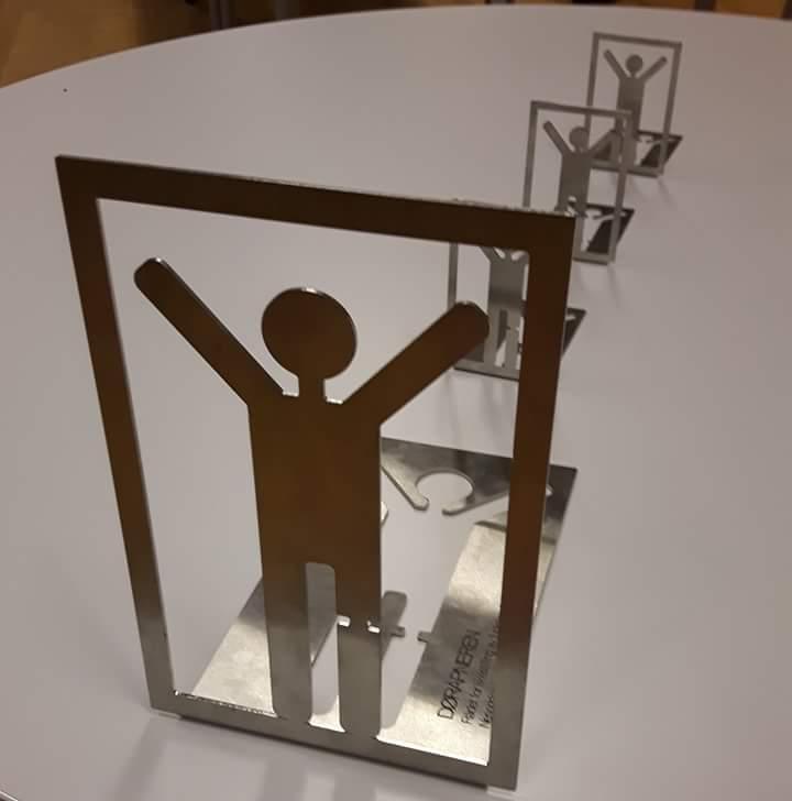 Døråpneren   er en vandrepokal utarbeidet på oppdrag for Rådet for likestilling av funksjonshemmede ved Nesodden kommune.