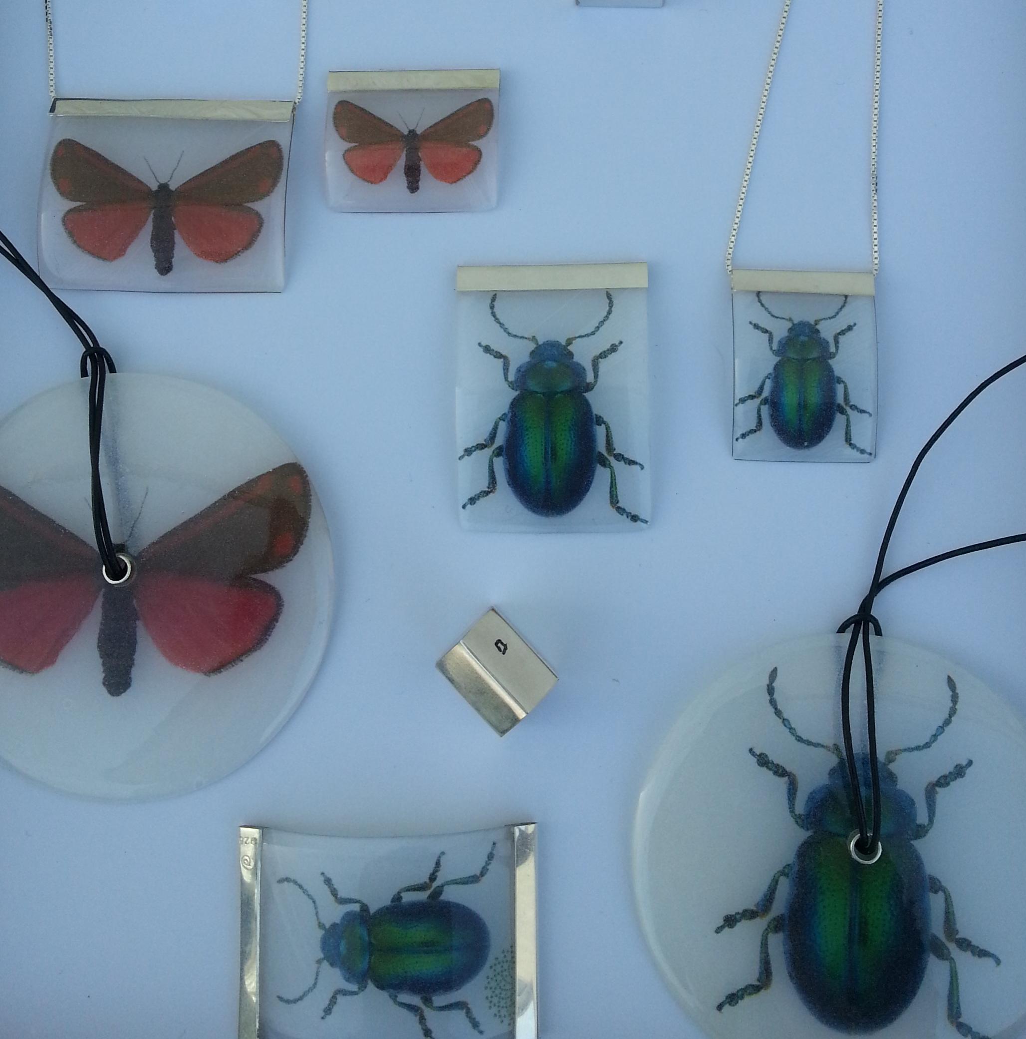 Utrydningstruede   insekter var Naturhistorisk museums oppdrag der deres foto var bakgrunnsmateriale.
