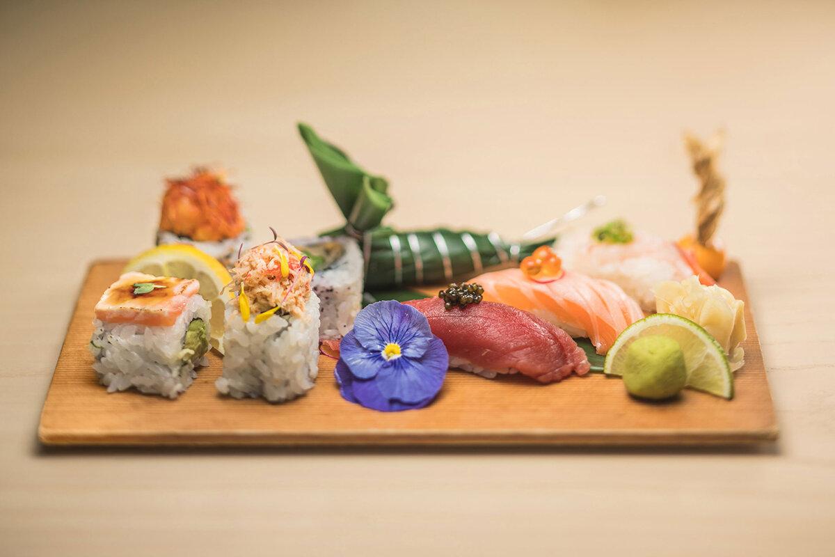 sushi aka -