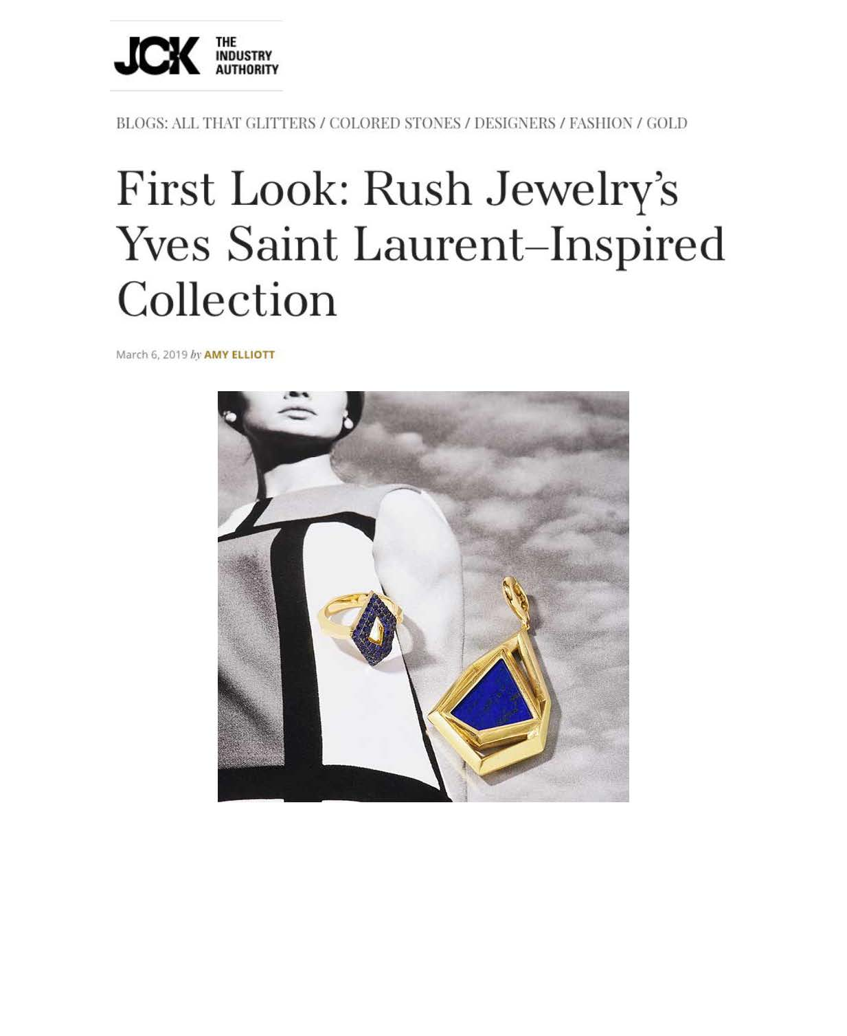 Rush Jewelry Design