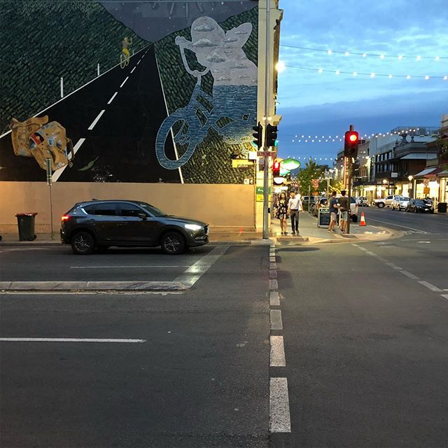 Adelaide at night  #urbanphotography #breearchitects #streetlife #urbanfabric #streetart