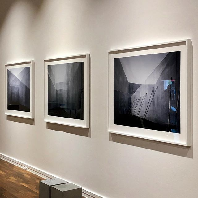 Beautiful @rhiannonslatter prints at the #jamfactoryadelaide  #architecturalphotography #concrete #precastconcrete