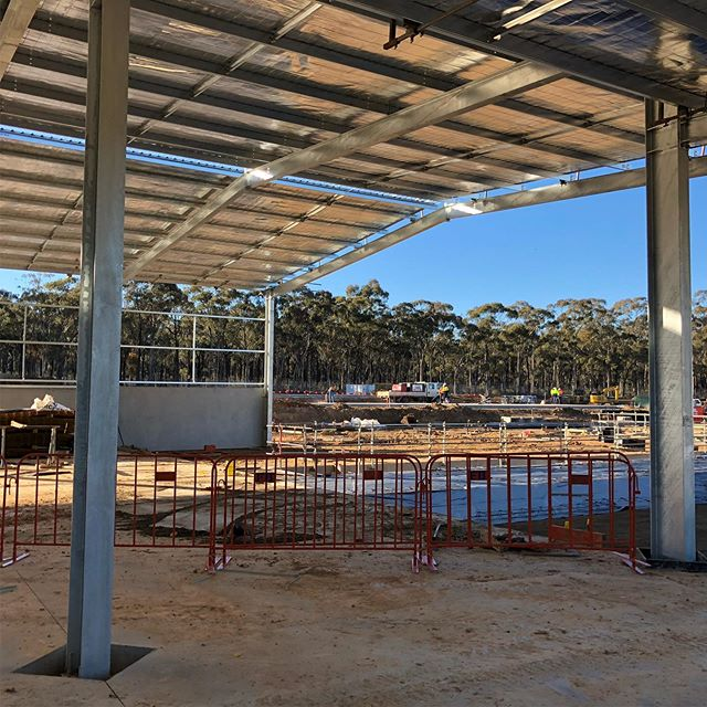 Site visit this week to our #ridleyfeedmill project in East Bendigo. The team is working hard on all fronts. . . . #breearchitects #smallbusinessbendigo #bendigoarchitects #bendigoarchitecture #industrialarchitecture #processarchitecture #bigmeetsbigger #bebendigo #inbendigo #bendigobusiness #ridleyagriproducts