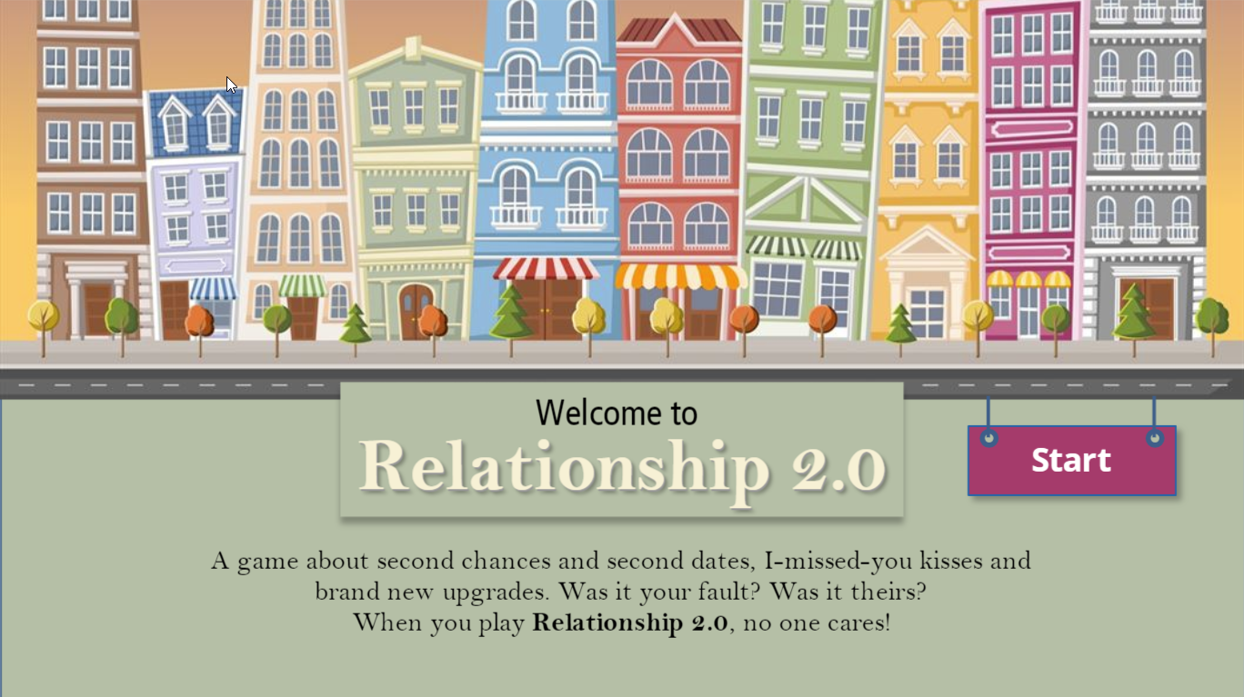 Project: Relationship 2.0