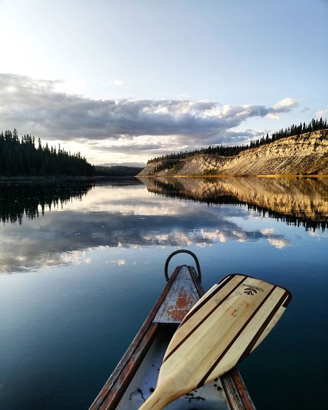 Fall is perfect for paddling!  We're still offering Pedal and Paddle tours throughout September: a morning on the mountain riding single track followed by a paddle down a section of the Yukon River in the afternoon /evening.  #cometomyyukon #exploreyukon  #paddleyukon #yukonriver #yukonrivertours #canoeing #yukoncanoeing #canadalife #whitehorse #takhiniriver #rideyukon #ridewhitehorse #terrariders