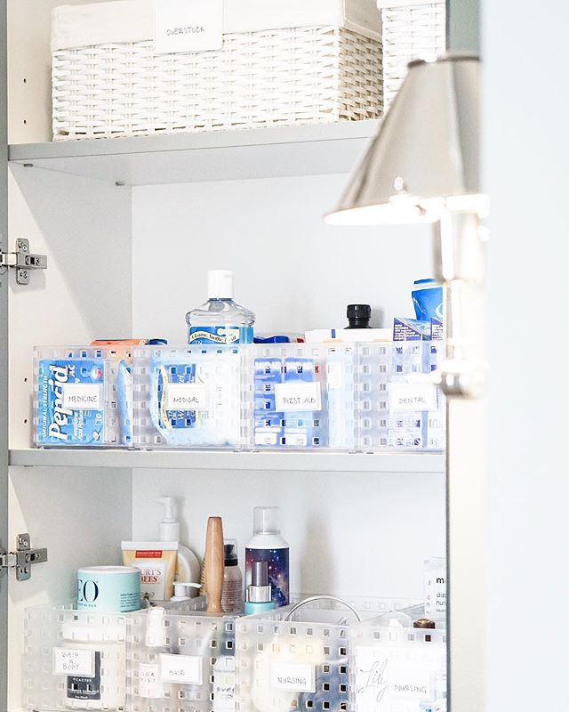 Organization so good you'll want to keep the doors open for the view 😍