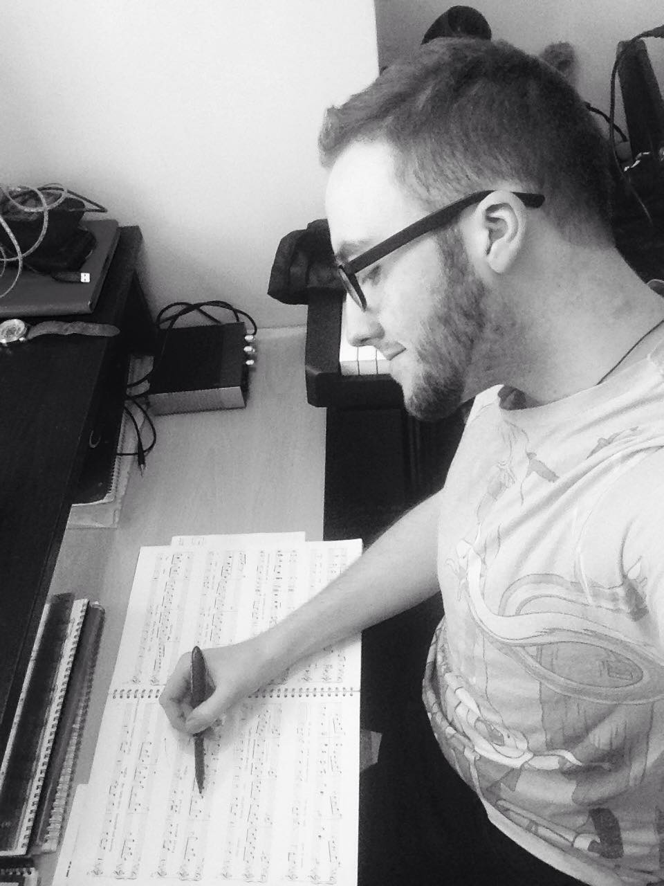 Jordan Clarke Writing out Music.jpg