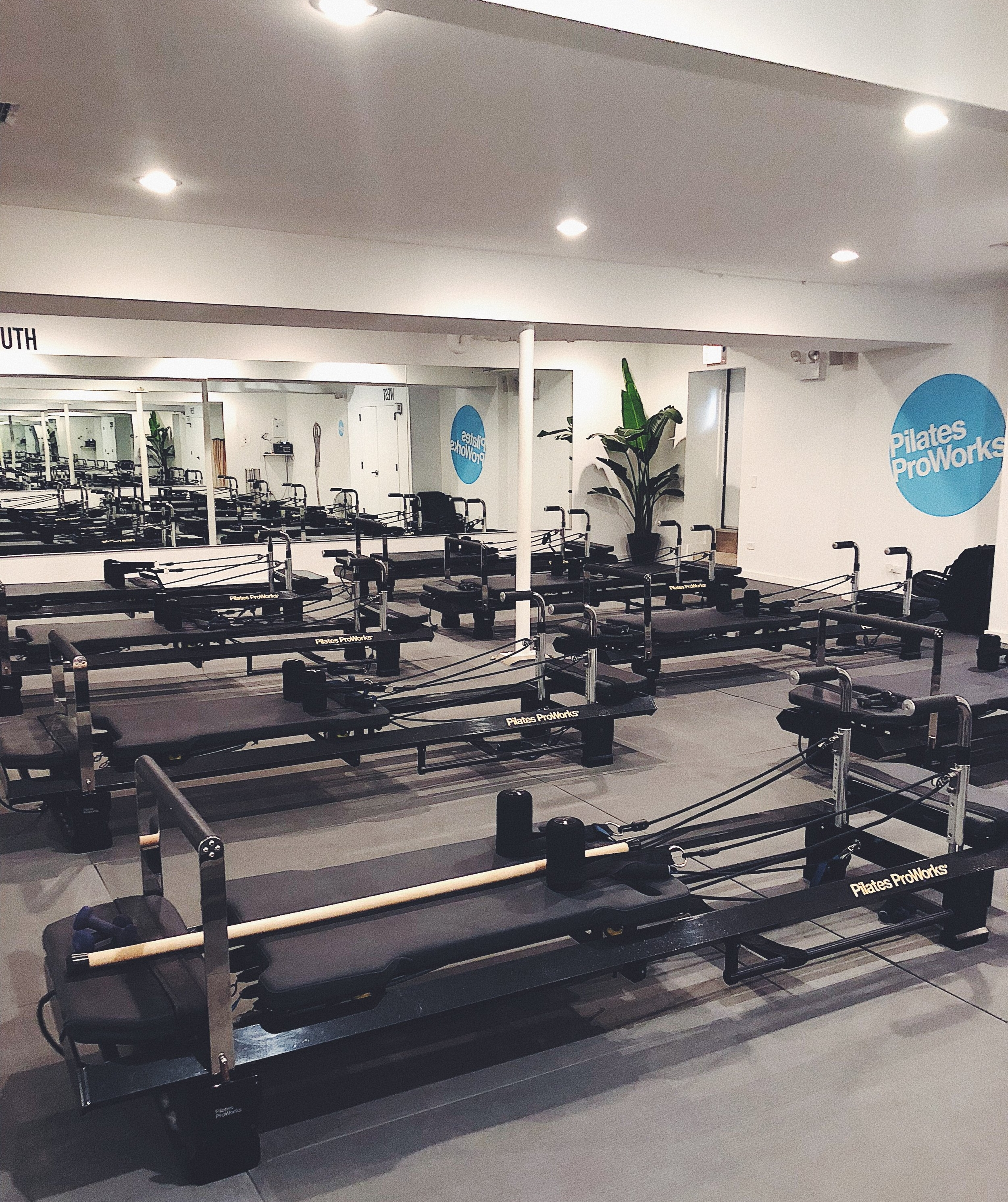 Pilates Proworks studio with FitFormer machines