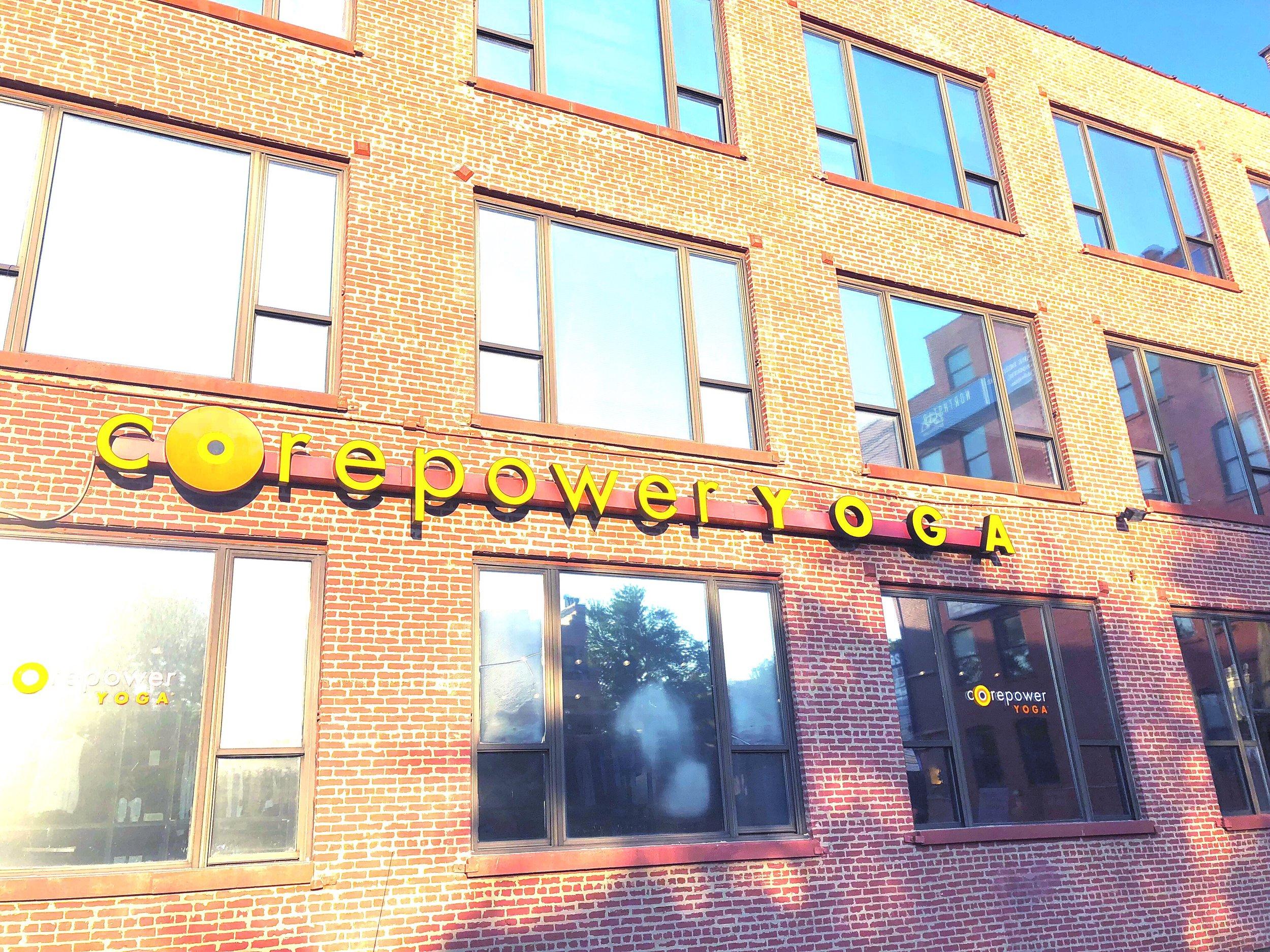 Corepower yoga sculpt studio in Chicago