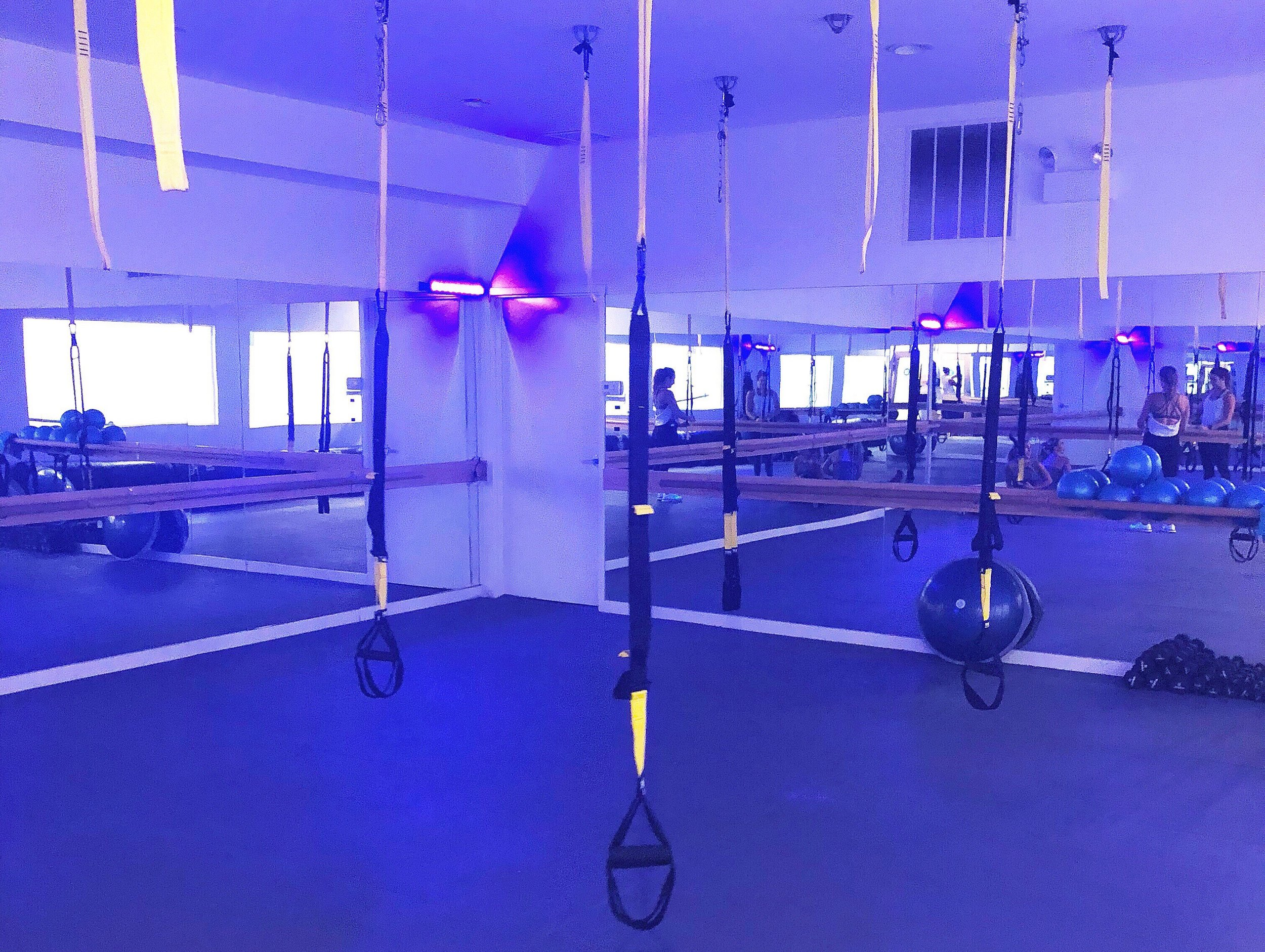 TRX pilates studio in Chicago.