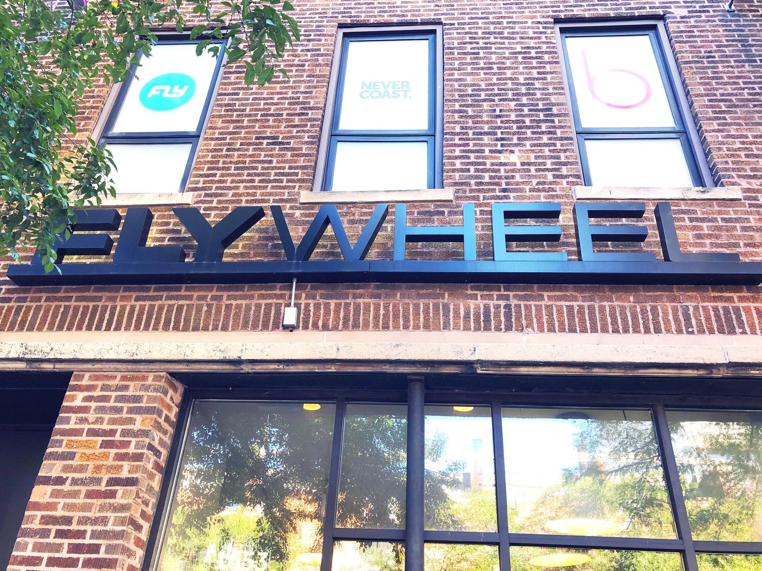 Flywheel spin studio in Chicago.