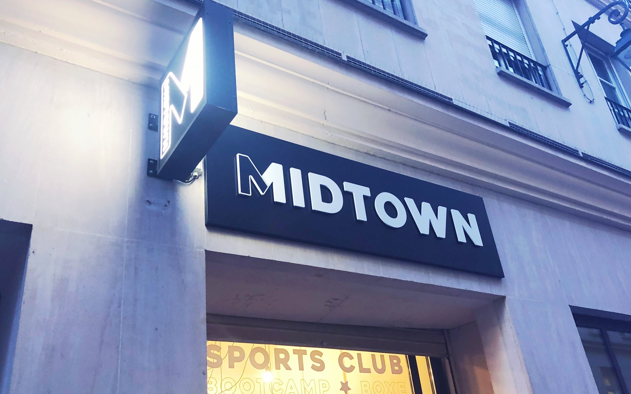 Midtown bootcamp studio in Paris, France.