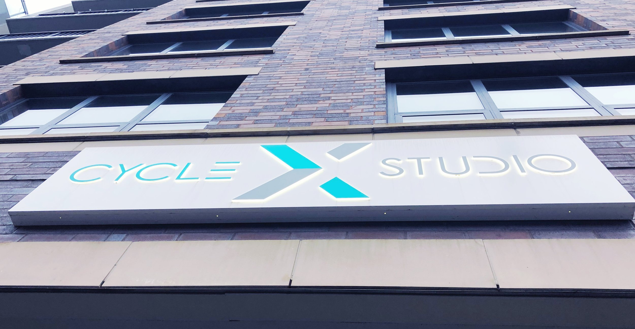 Cycle X cycling studio in West loop, Chicago.