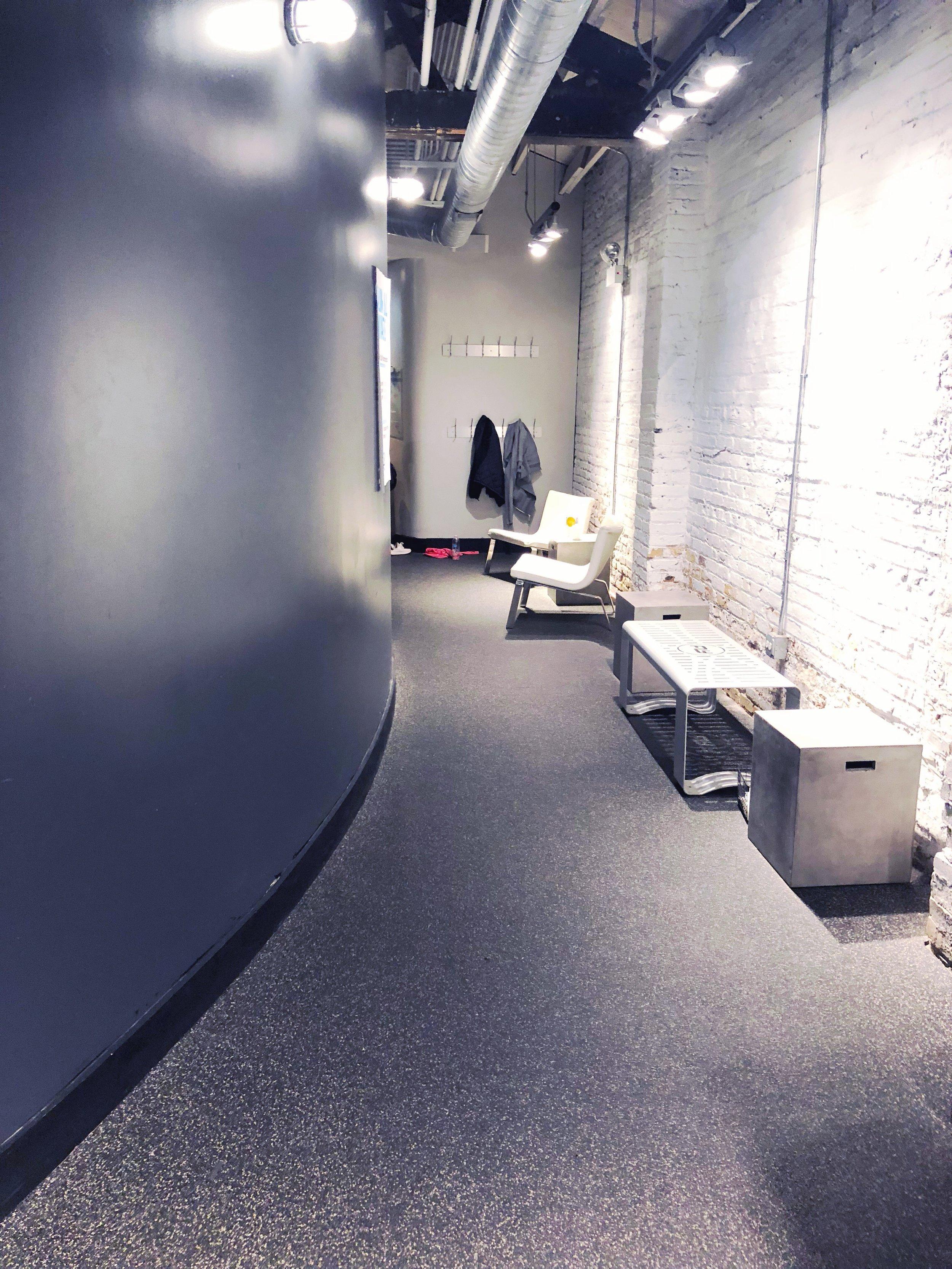 Flywheel studio in Chicago.