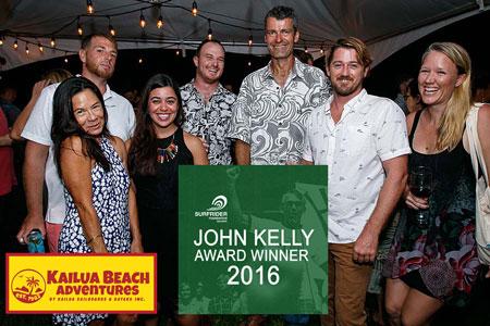John Kelly Award Winner