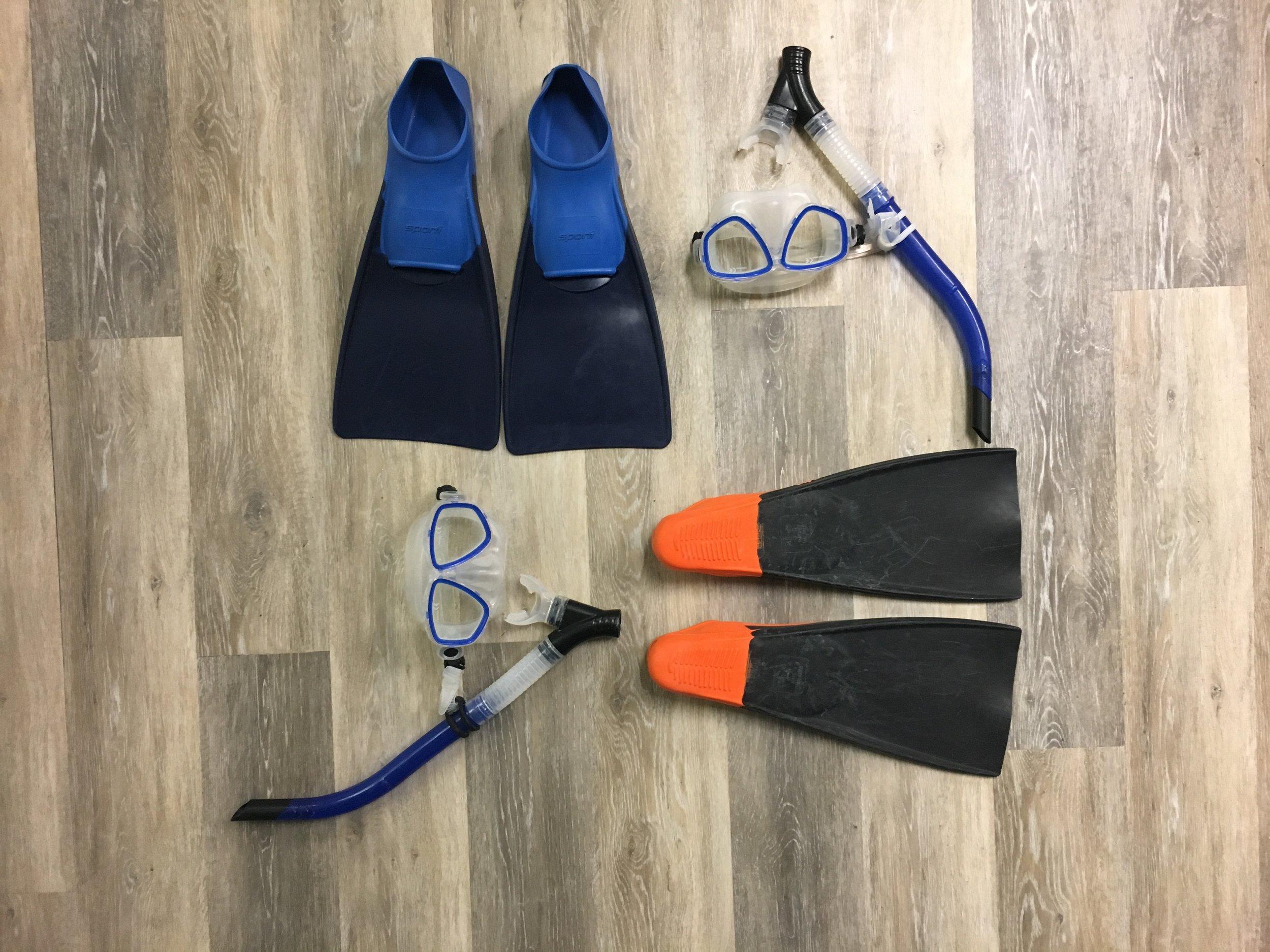 - Snorkel set
