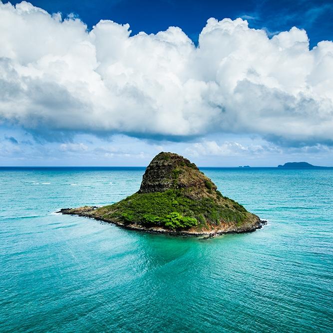 Chinaman's Hat Kaneohe Bay Oahu