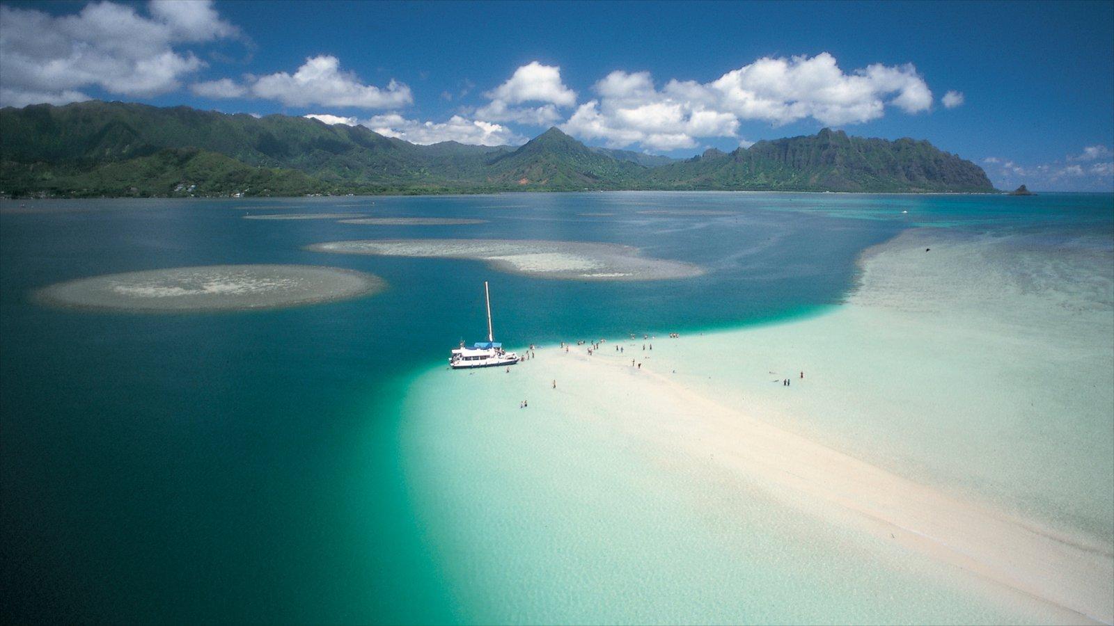 Kaneohe Bay Sandbar Oahu Hawaii