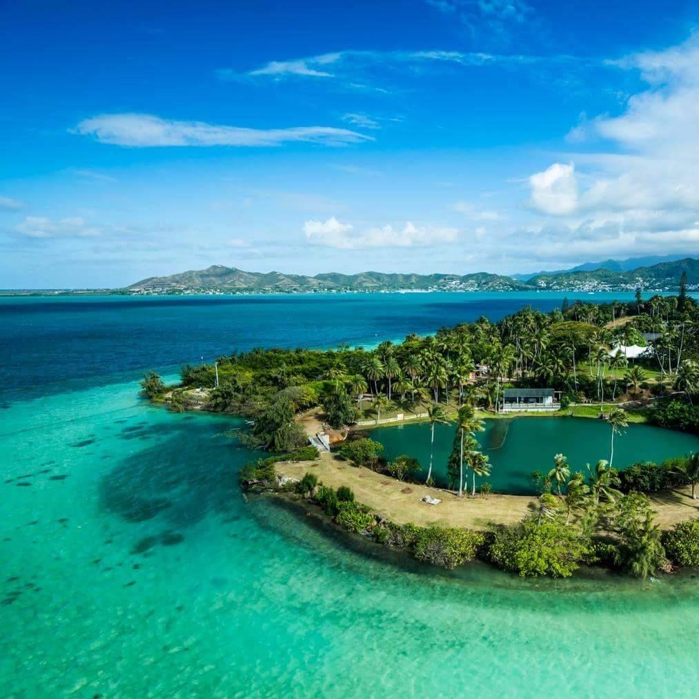Coconut Island in Kaneohe Bay