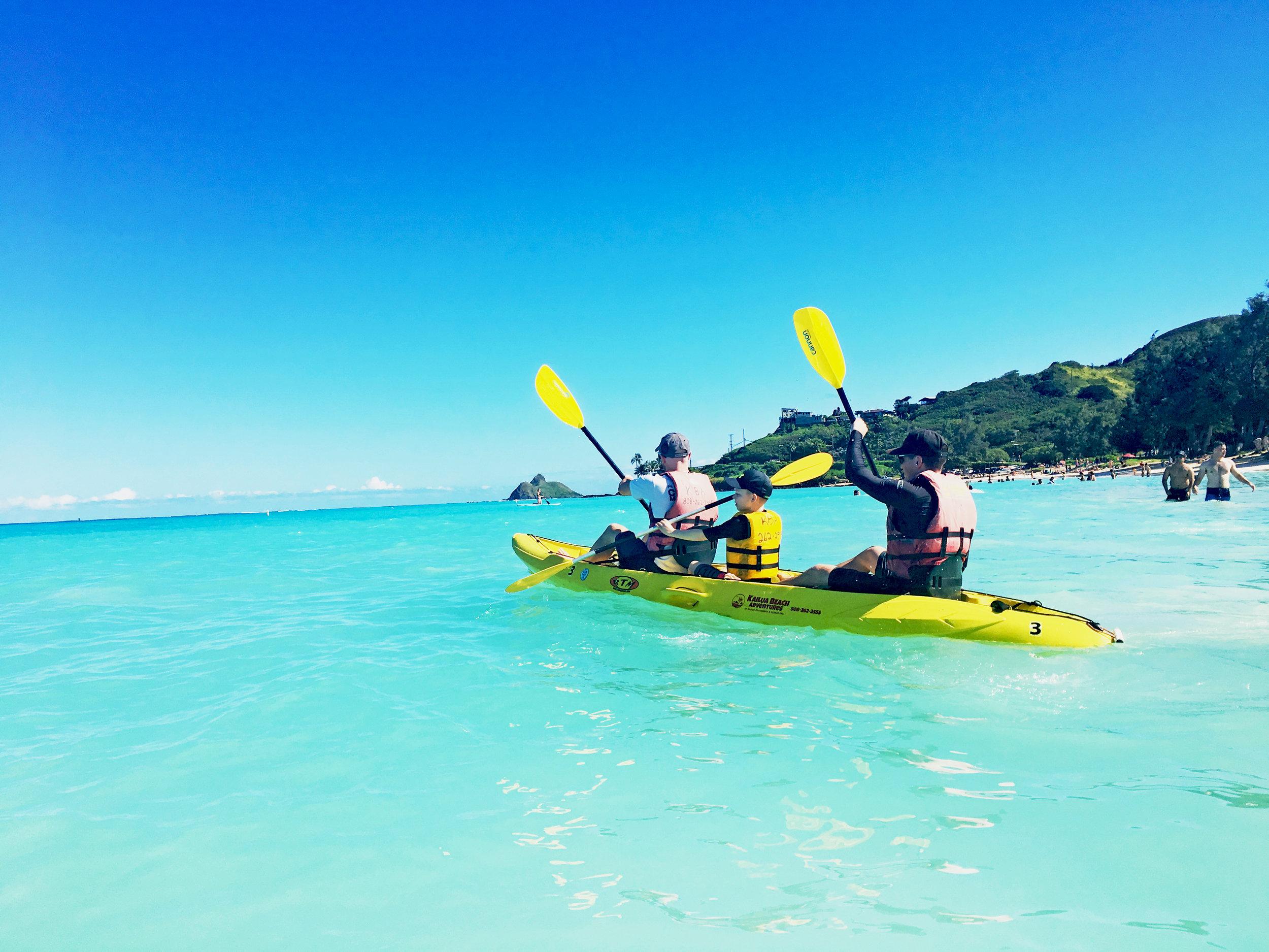 - Triple Kayaks