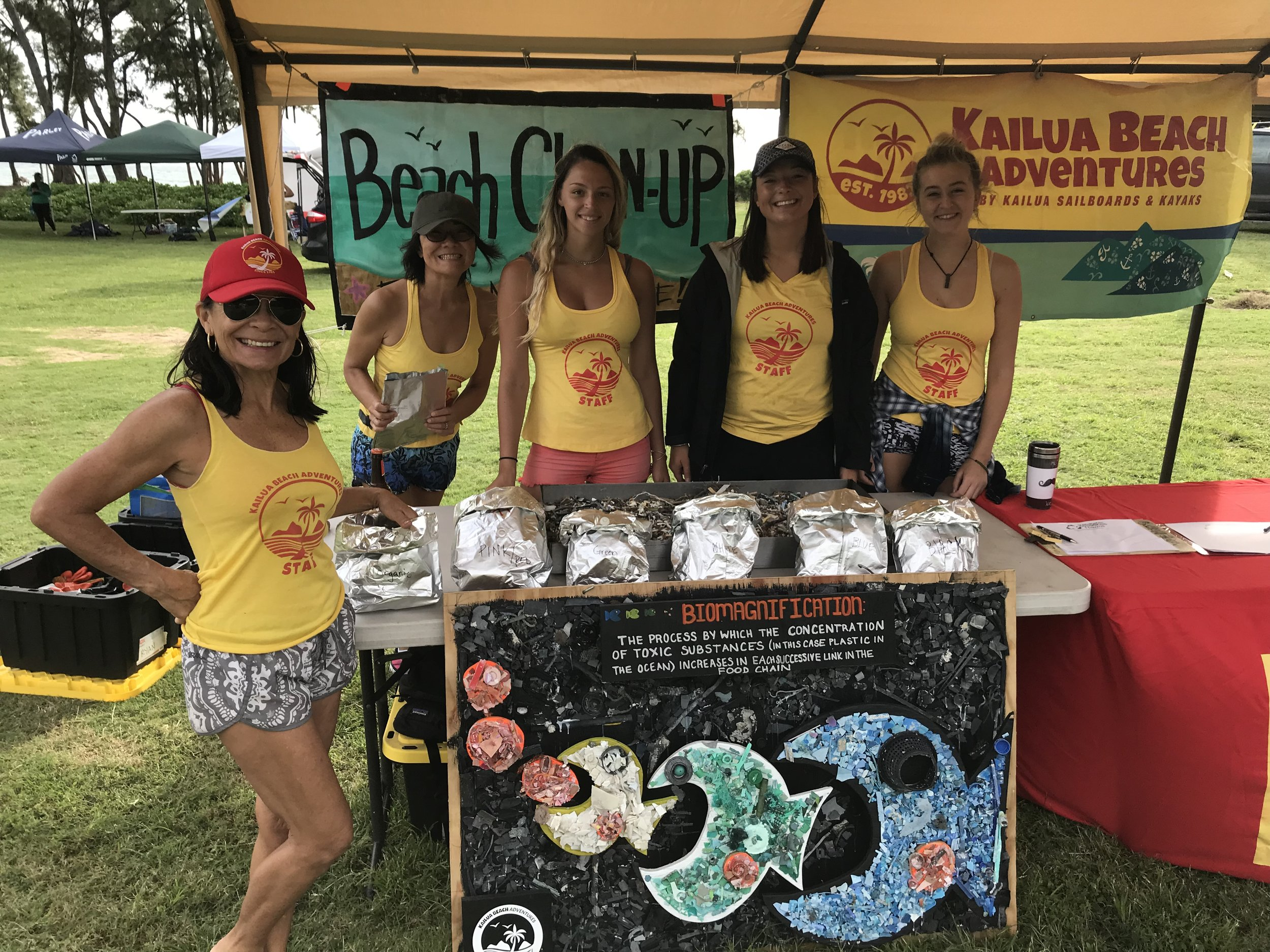Kailua Beach Adventures Beach Cleanup