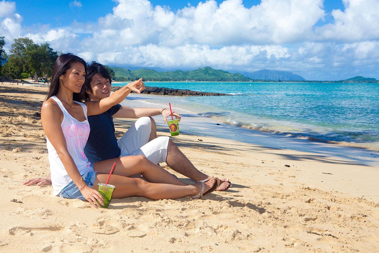 今オンライン予約すると15%オフ! - 当社の定番カイルアビーチツアー