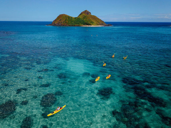 Guided Kayak Tour of Mokulua Islands