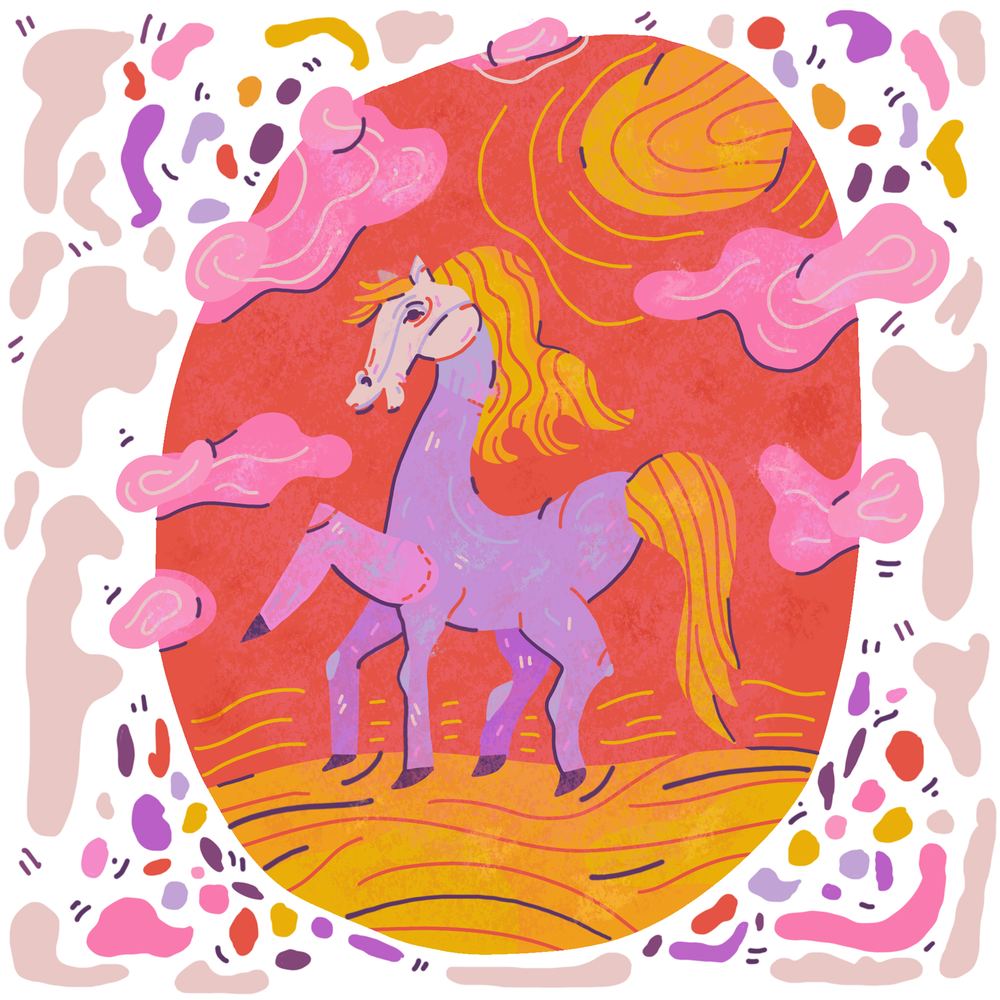 Five Types of Horses - Kathleen Rowland, Paper DartsIllustrated by Meghan Murphy