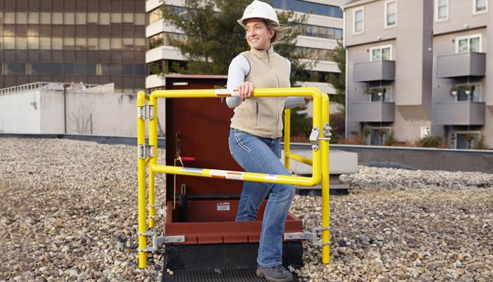 Bil-Guard® 2.0 Roof Hatch Railing System