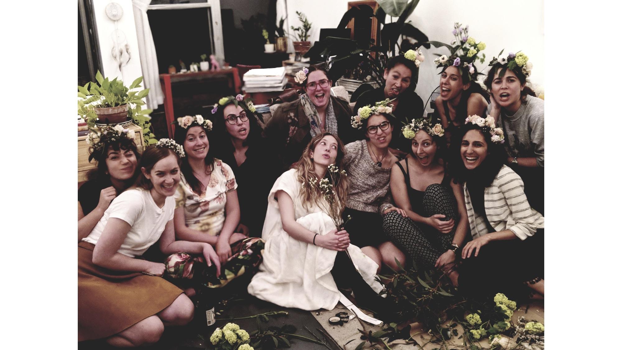 Flower Crown Time | Photo credit:  Danielle Friedman