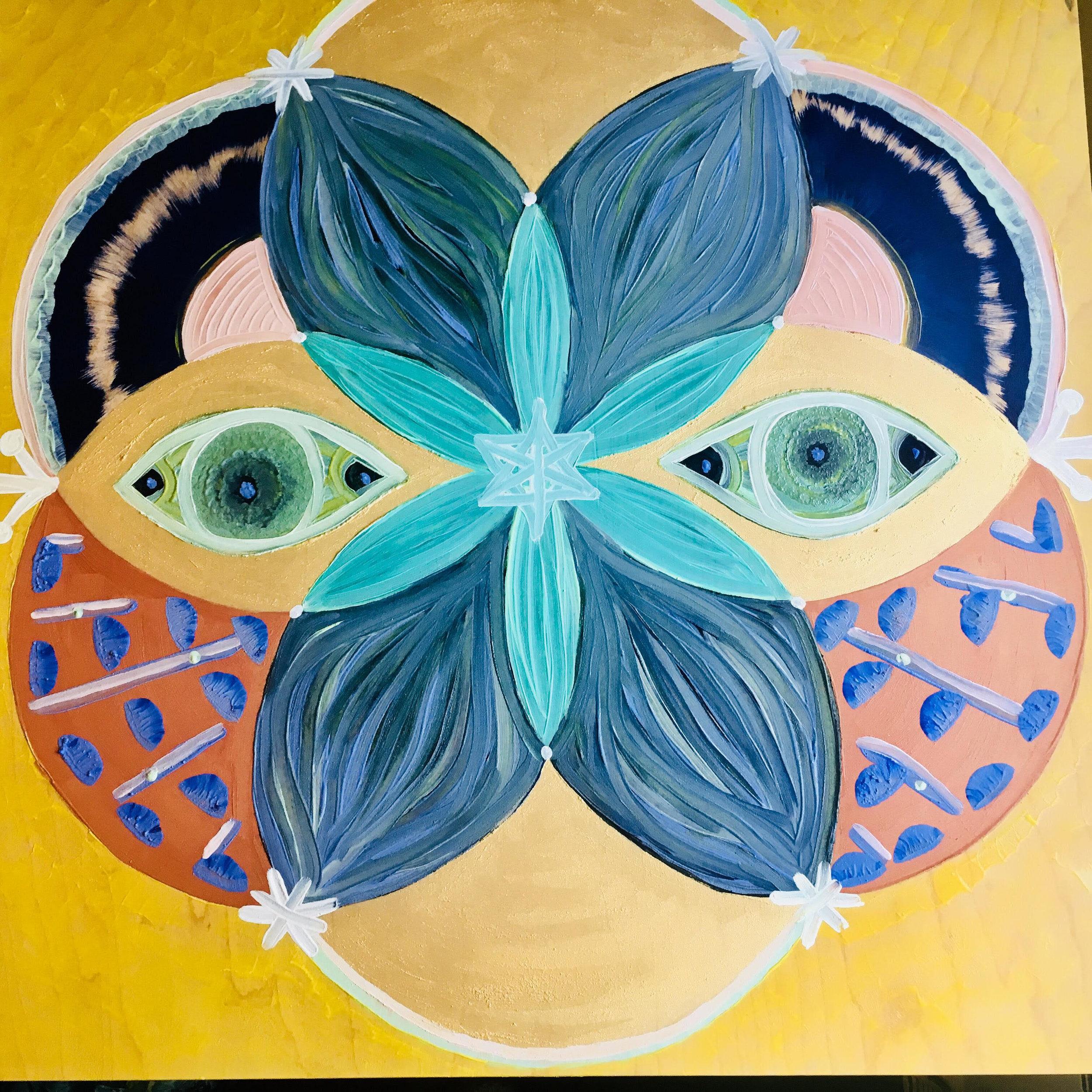 Masks of Divinity by   Alyssa Elbogen