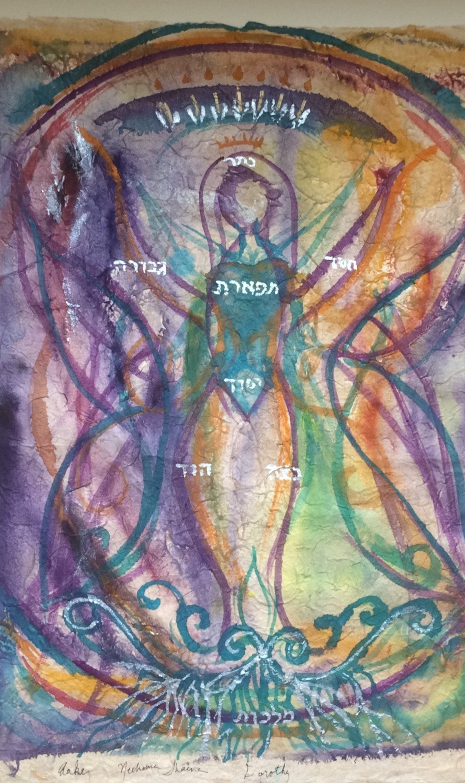 She is a Tree of Life   by Nechama Shaina