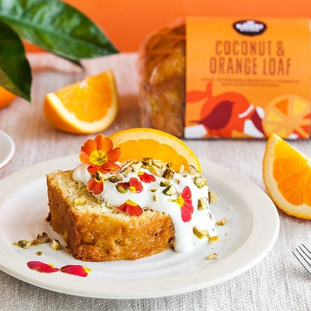Pretty citrus! @kaurikitchennz Coconut & Orange loaf is delish toasted with @raglancoconutyoghurt #glutenfree #dairyfree #simplefood #handmade #fastbrunch Available at @farrofresh and selected New Worlds and specialty store